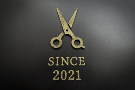 NEW OPEN 美容室の入口サイン
